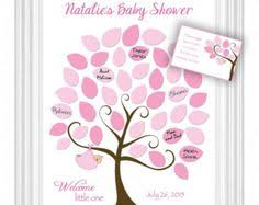 baby shower sign in baby shower guest 16x20 sign in tree poster baby shower guest