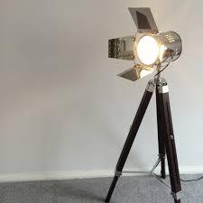 industrial tripod floor lamp studio floor lamp spotlight floor