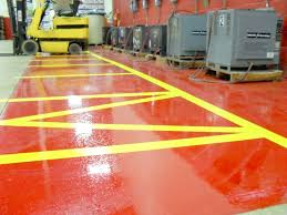 Industrial Epoxy Floor Coating Osha Floor Striping Standards By Michigan Specialty Coatings