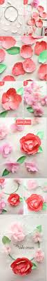 watercolor paper flower tutorial 122 best diy flowers silk paper chiffon images on pinterest