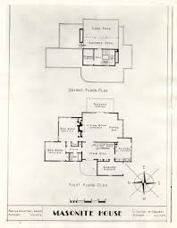 floor plan for the masonite house exhibit full title f u2026 flickr