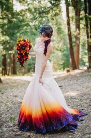 colorful wedding dresses best 25 wedding dresses with color ideas on colorful