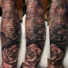 tattoos for map sleeve tattoo www 6tattoos com