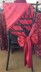 chagne chair sashes chair sash tutorial