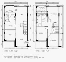 butterpaperstudio reno cck maisonette basic hdb floorplan