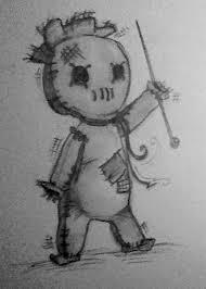 photos voodoo doll sketch drawing art gallery