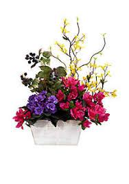 artificial flower arrangements artificial silk flower arrangements belk