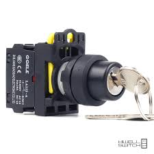 key operated light switch 5 pcs push button switch selector switch key operated 2 position