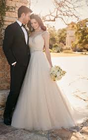 a line wedding gown with ruched sweetheart bodice