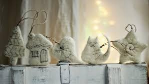 felt art by mariana christmas tree ornaments