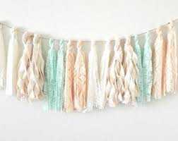 tassel garland tassel banner fabric tassel garland lace