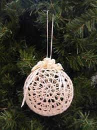 vintage 1990 s bronson ecru crochet tree