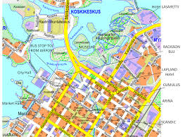 Finnair Route Map by Venue Photonics Summer