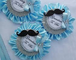 baby shower pins corsage etsy