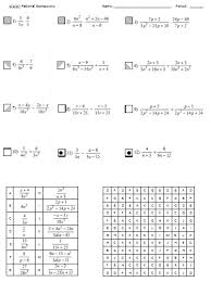 rational expressions search and shade algebra pinterest