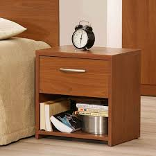 bed and side table set bedroom side table with bed bed bedside table white and brown