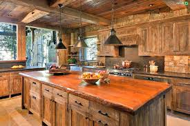 log cabin kitchen cabinets cabin kitchen log cabin kitchen with natural wood finish cabinets