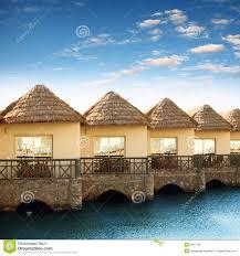 beautiful bungalows resort with beautiful bungalows royalty free stock image image