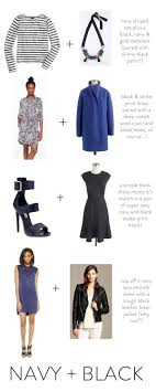 color tips to match clothing fashion friday wearing navy black together elements of style blog