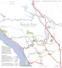 Map Of Austin Area by Russian River Detailed Area Map