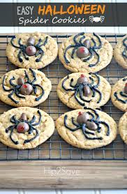 easy halloween spider cookies u2013 hip2save