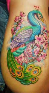 peacock tattoo flash pictures to pin on pinterest tattooskid