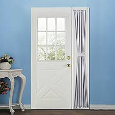 Side Panel Curtains Elegance Blackout Sidelight Panel Curtains 25w By 72l