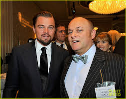 leonardo dicaprio u0026 daniel bruhl bafta tea party 2014 photo