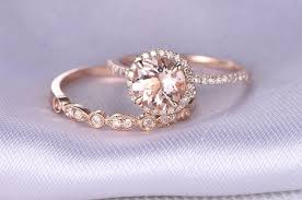 engagement wedding rings images 29 most popular rose gold engagement wedding rings worth having jpg