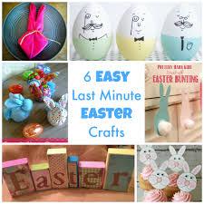 6 simple last minute easter crafts