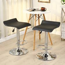 furniture modern bar stools with dark leather top also unique