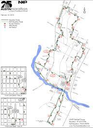 Map Austin by Austin Marathon World U0027s Marathons