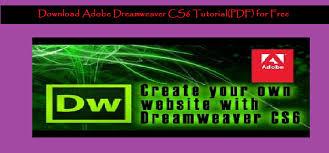 css tutorial beginners pdf free download download adobe dreamweaver cs6 tutorial pdf for free