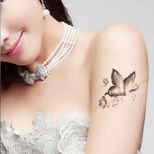black white butterfly tattoos for fairtattoo butterfly