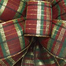 plaid ribbon ribbon wired ribbons plaid ribbon