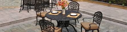 Outdoor Porch Furniture by Cast Aluminum Patio Furniture Cast Aluminum Outdoor Furniture