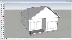How To Draw A Simple House In Google Sketchup