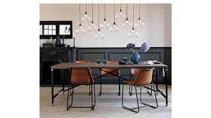 Dining Leather Chair Roadhouse Leather Dining Chair In Accent Chairs Reviews Cb2