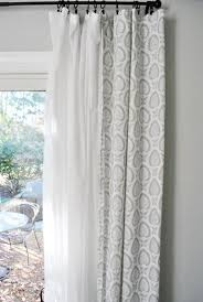 Curtains For Bedroom Windows With Designs by Best 25 Double Curtains Ideas On Pinterest Modern Living Room