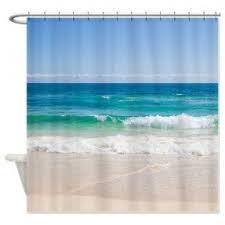 Beachy Shower Curtains Shower Curtain Foter