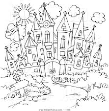 royalty free stock avenue designs of coloring pages