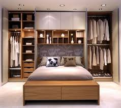 Bedroom Recessed Lighting Wall Cabinet Decoration For Minimalist Bedroom Design With