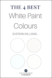 the 4 best white paint colours sherwin williams