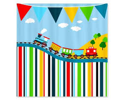 Boy Bathroom Shower Curtains 9 Best Shower Curtains Images On Pinterest Kid Bathrooms