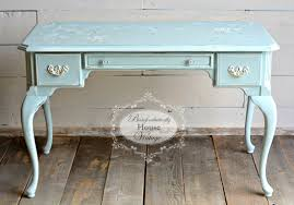 Queen Anne Secretary Desk by Cast Off Queen Anne Desk Painted With Love U0026 Blossoms