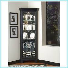 kitchen corner display cabinet glass door corner curio cabinet corner cabinets