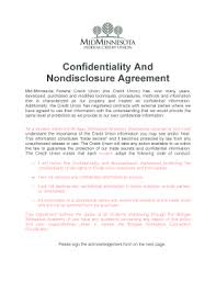 non disclosure agreement doc fill out online forms templates