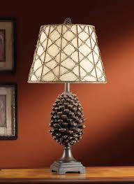 philips pine cone string lights rustic lighting timber ridge floor l cabin placeting lu broco