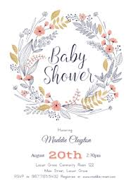 stunning baby shower invitation templates ideas resume samples