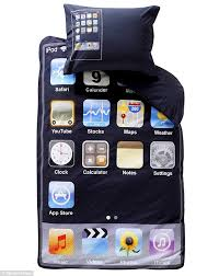 Teenage Duvet Sets Idream Of Genius The Iphone Duvet That Will Delight Tecchies